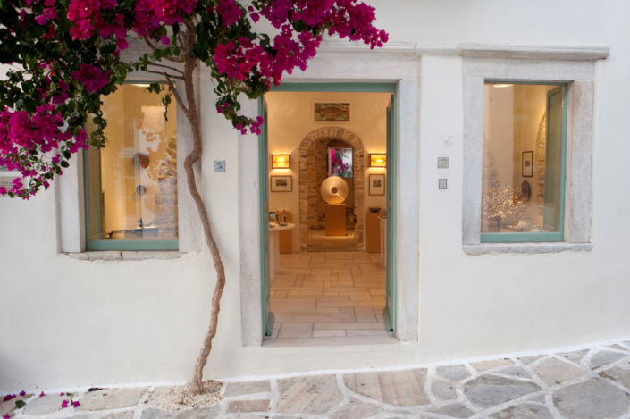 Fish & Olive Art Gallery Halki Naxos