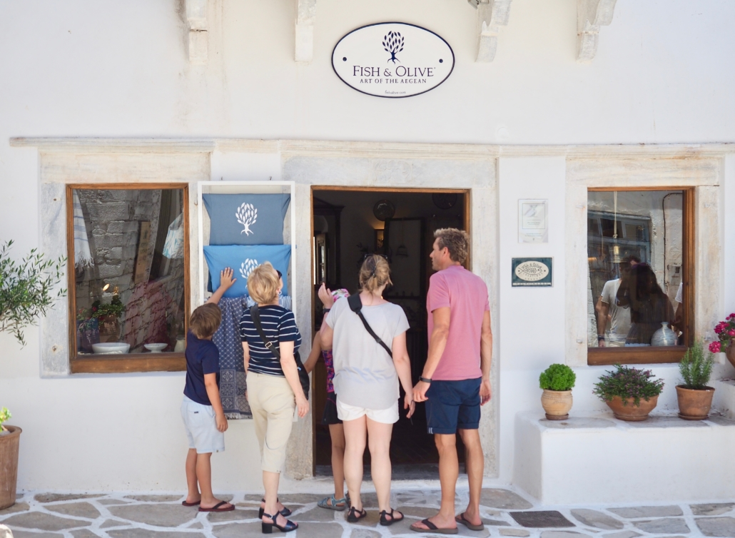 Fish & Olive shop Halki Naxos Art of the Aegean