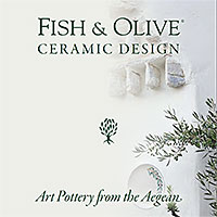 Fish & Olive Ceramic Design